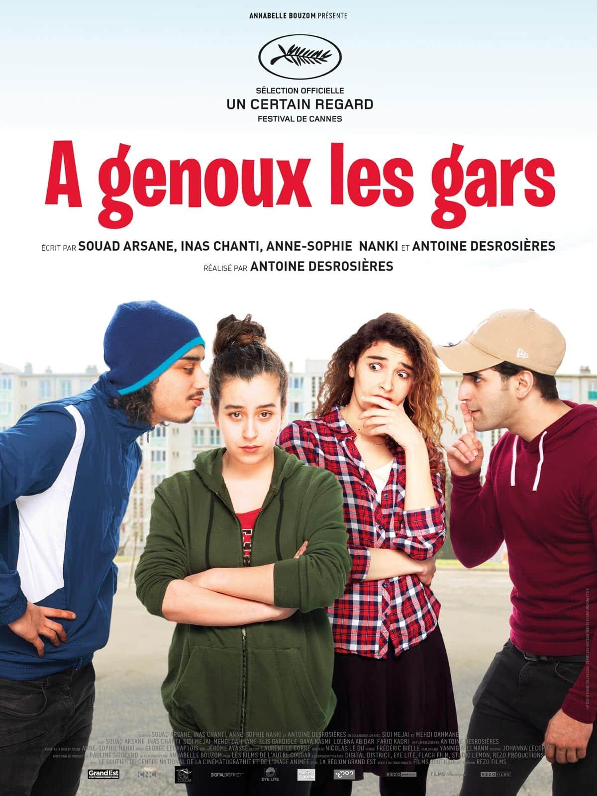 Affiche du Film A genoux les Gars