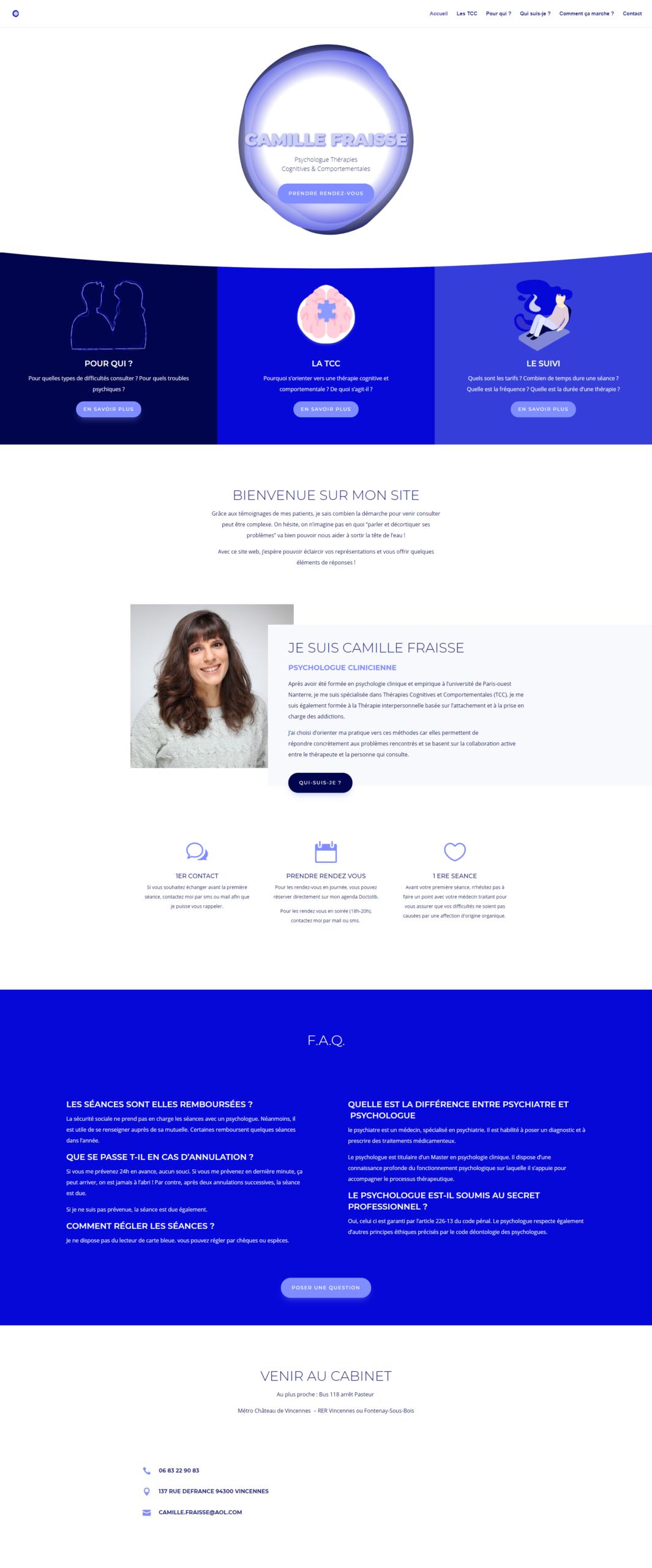 Site Camille Fraisse