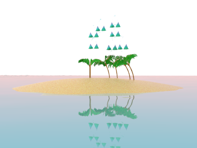 Aqua island